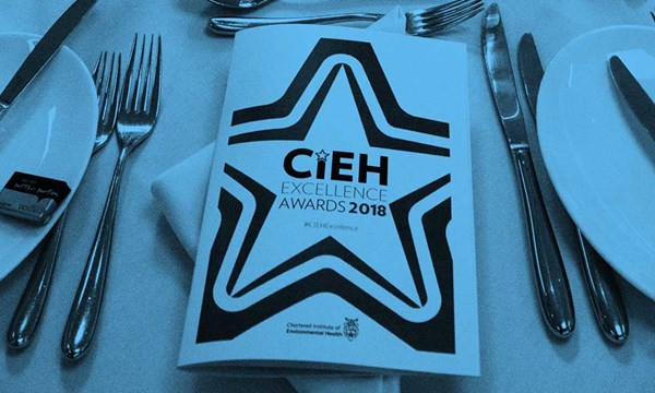 CIEH Excellence Award brochure cover