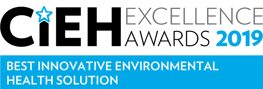 CIEH Excellence Awards 2019: Best Innovative Environmental Health Solution