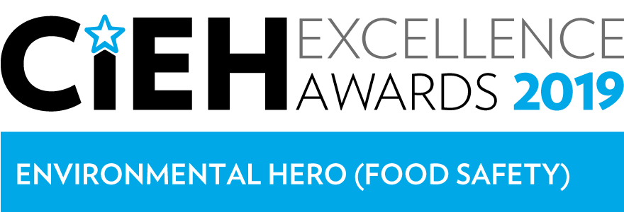 CIEH Excellence Awards 2019: Environmental Hero (Food Safety)