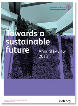 Annual Review 2018 cover