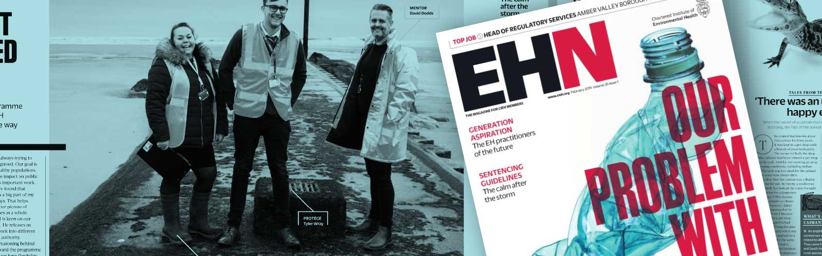 Cover of EHN magazine