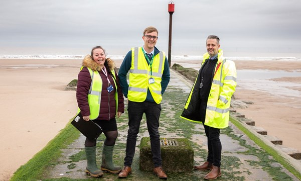 Amanda Bowskill, Environmental Protection Officer; Tyler Wray, Environmental Protection Officer; David Dodds, Environmental Health Manager, East Lindsey District Council