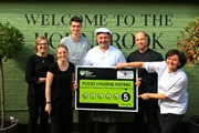 Hall & Woodhouse with their food hygiene rating