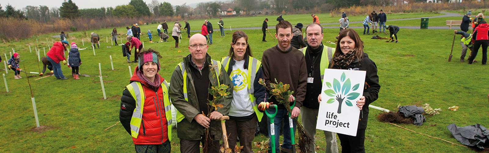 Derry City and Strabane's tree-planting project