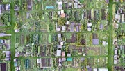 allotments aerial view