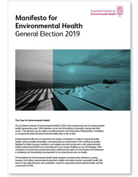 Manifesto for Environmental Health - General Election 2019