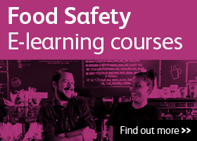 Food Safety E-learning courses. Find out more