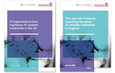 Cosmetic treatments report covers