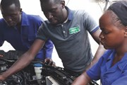 A training session with Wanyama Autosafety Initiatives